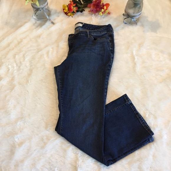 torrid Denim - Torrid Relaxed Boot Cut Jeans Sz 18 Dark Wash